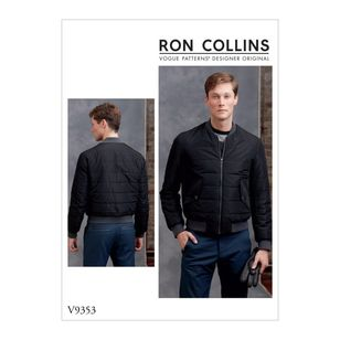 Vogue Pattern V9353 Ron Collins Men's Jacket