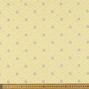 Teddy Printed Quilted Fleece Fabric