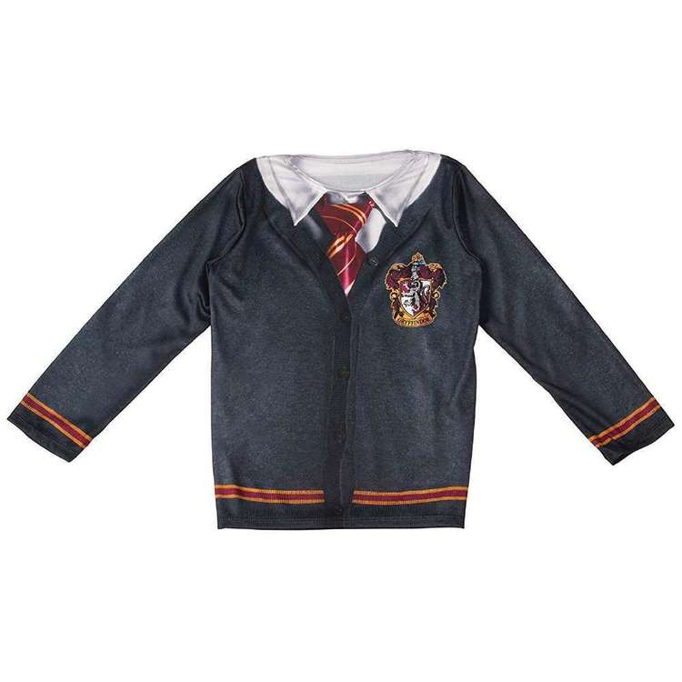 Harry Potter Gryffindor Kids Costume Top