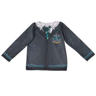 Harry Potter Slytherin Kids Costume Top