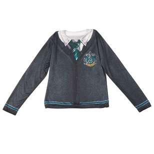 Harry Potter Slytherin Adult Costume Top