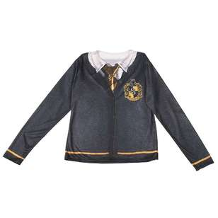Harry Potter Hufflepuff Adult Costume Top