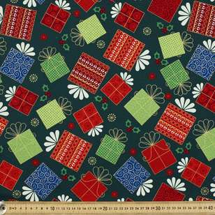 Christmas Presents Cotton Fabric