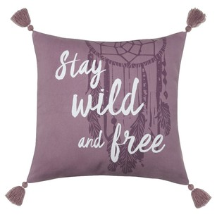 Bouclair Nomadic Spirit Wild & Free Cushion