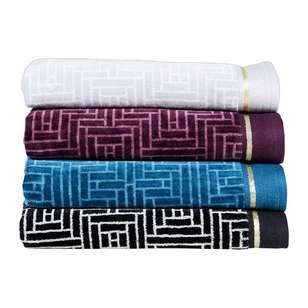KOO Elite Jacquard Velvet Towel Collection
