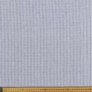 Yarn Dyed Cotton Linen Blend Stripe Fabric