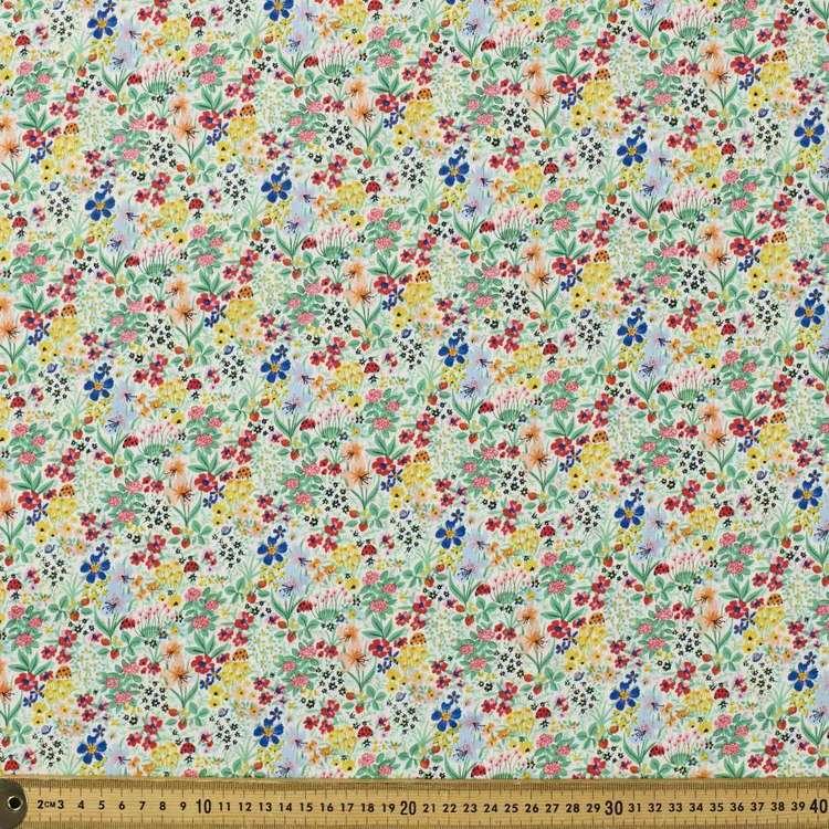 Playful Garden Printed Mix N Match TC Fabric
