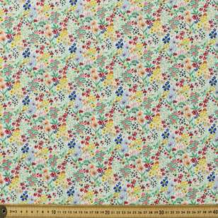 Playful Garden Printed Mix N Match TC Fabric