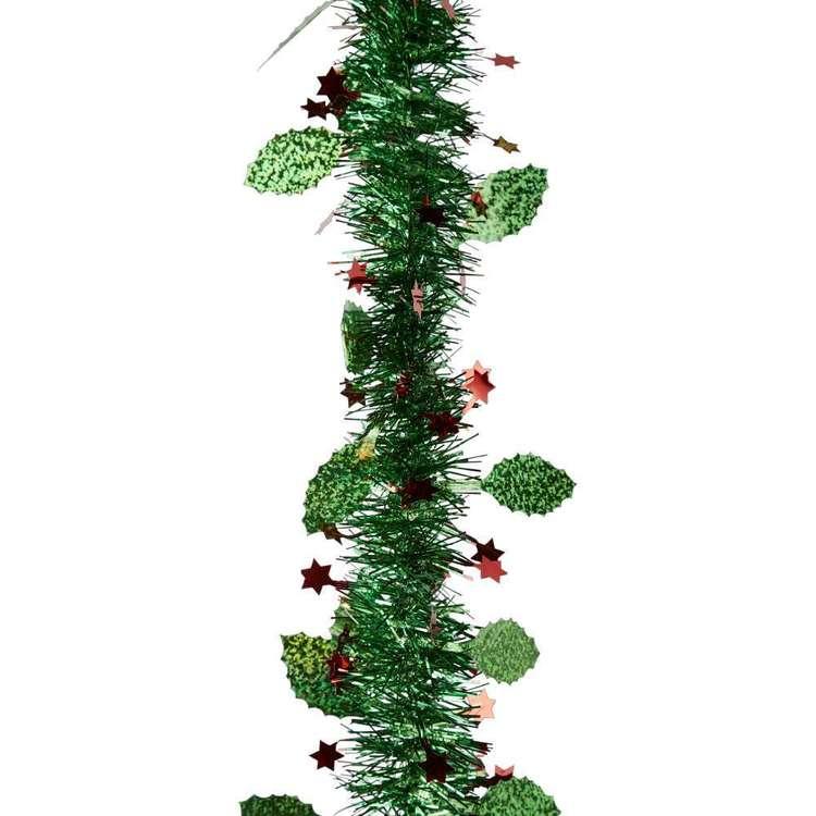 Jolly & Joy Decorate Tinsel Shiny Holly
