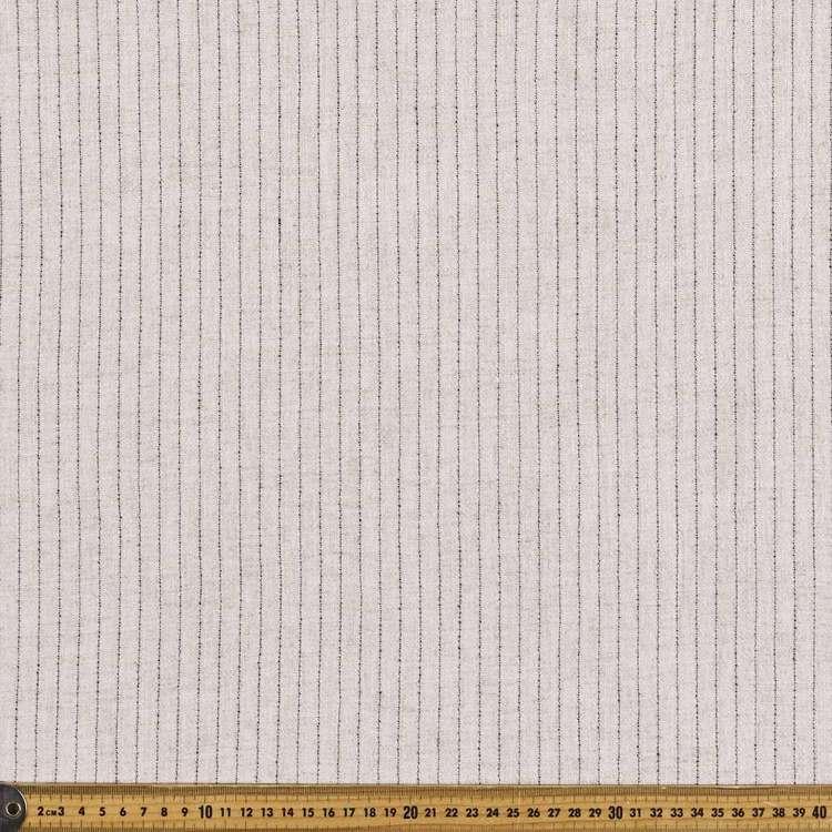 Yarn Dyed Viscose Linen Blend Stripe Fabric