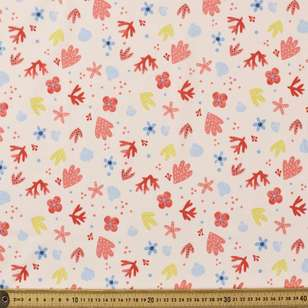 Sea Shells Printed Mix n Match TC Fabric