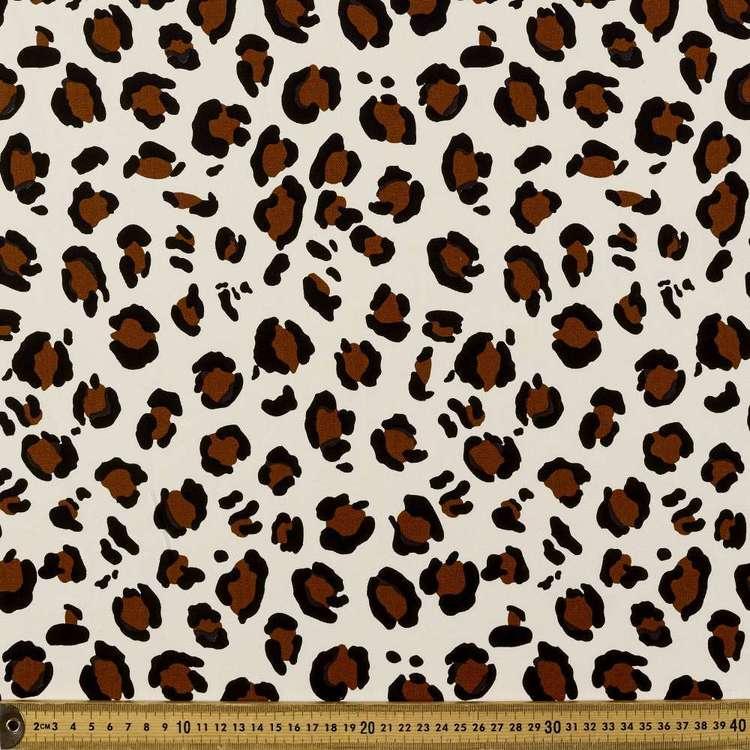 Rusty Animal Printed Buzoku Cotton Duck Fabric