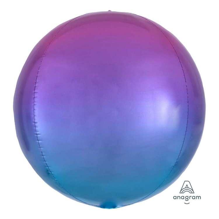 Amscan Ombre Orbz Foil Balloon