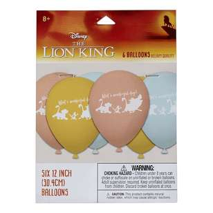 Amscan Lion King Latex Balloons