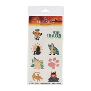 Amscan Lion King Tattoos