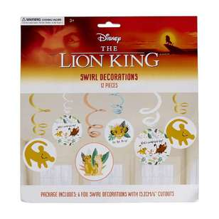 Amscan Lion King Swirl Decoration