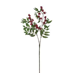 2 Head Berry With Leaves