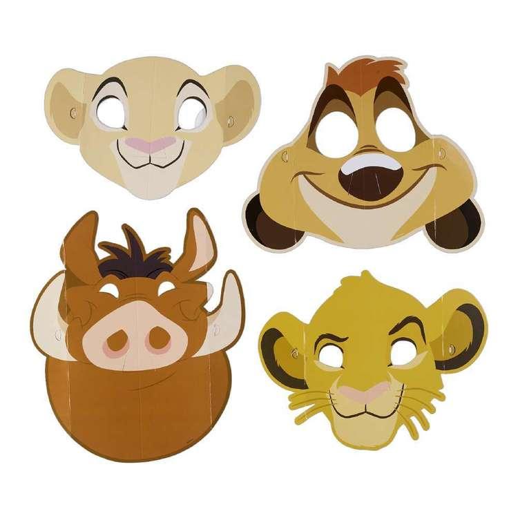 Amscan Lion King Paper Masks