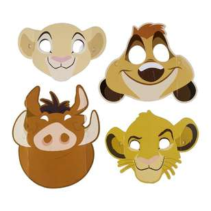 Amscan Lion King Paper Masks