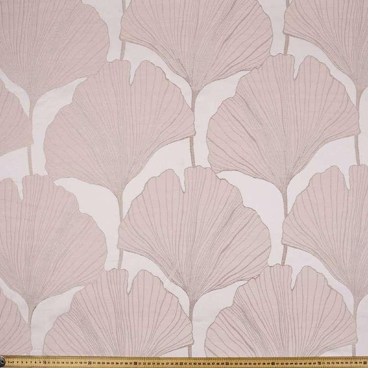 Ginko Jacquard Curtain Fabric