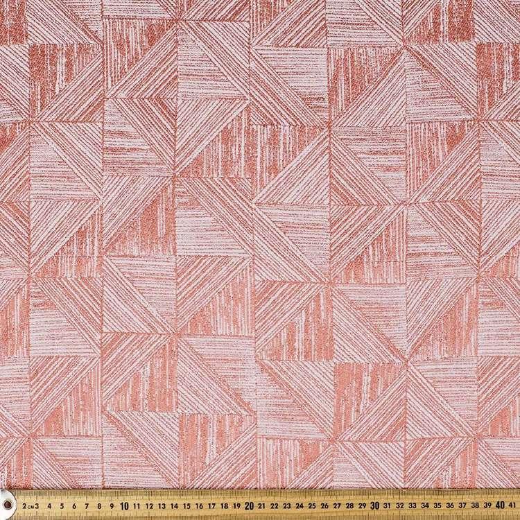 Square Sketch Jacquard Curtain Fabric
