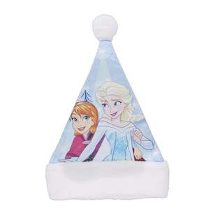 Disney Frozen Plush Santa Hat