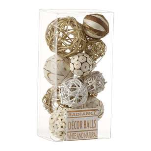 Radiance Boxed DEcor Balls
