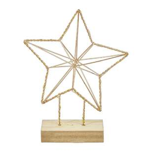 Jolly & Joy Decorate Light Up Copper Star