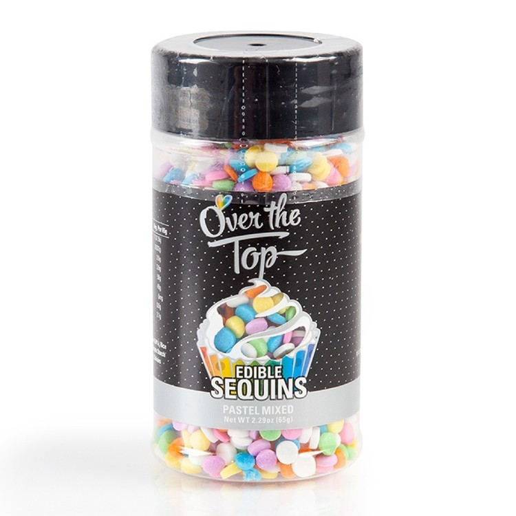 Over The Top Edible Sequins