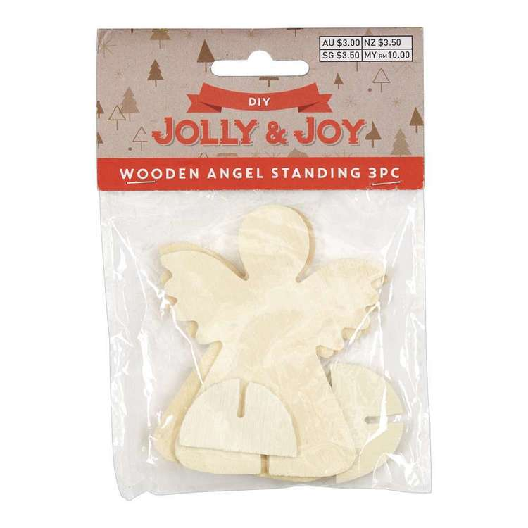 Jolly & Joy DIY 10cm Standing Angel 3 Piece