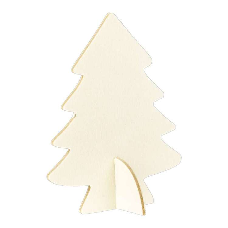 Jolly & Joy DIY 10cm Standing Tree 3 Piece