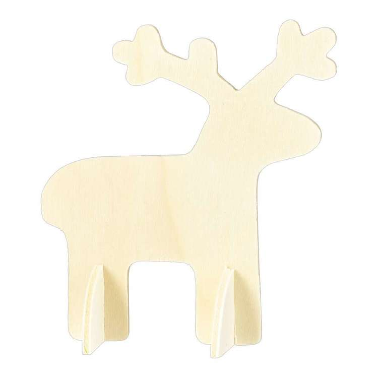 Jolly & Joy DIY 10cm Standing Deer 3 Piece