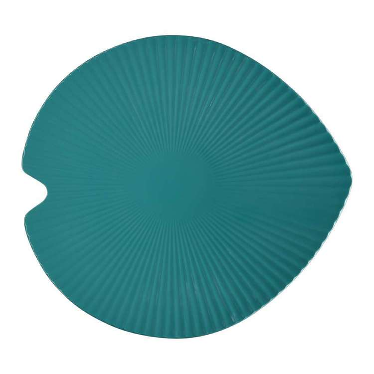 Culinary Co Leaf Shaped Melamine Platter