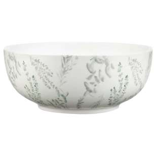 Bouclair Botanica Fern Print Bowl