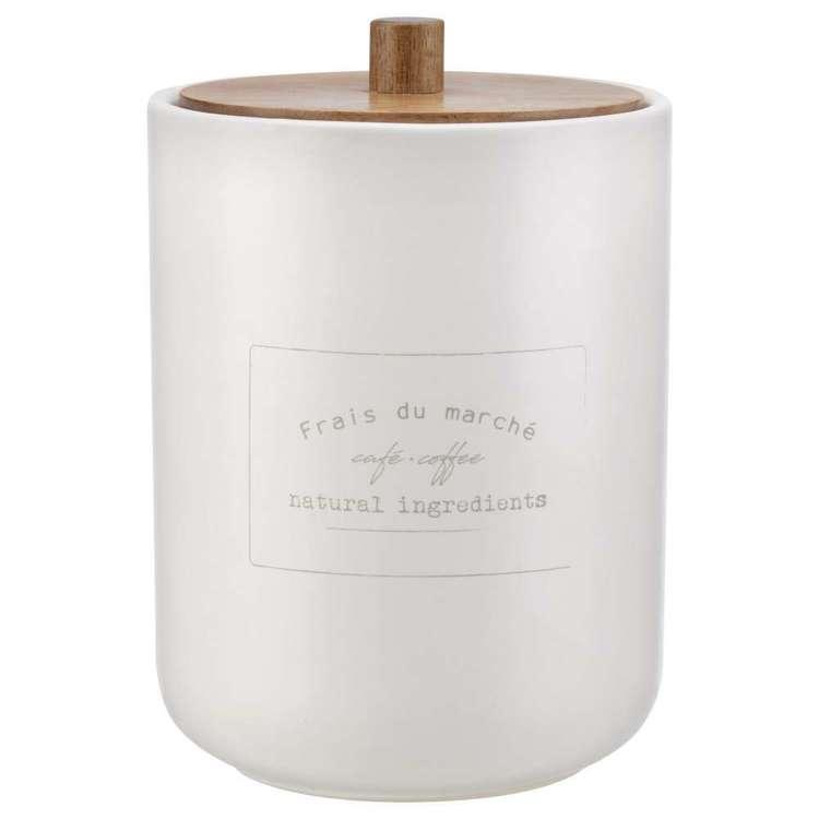 Bouclair Botanica Typo Coffee Jar