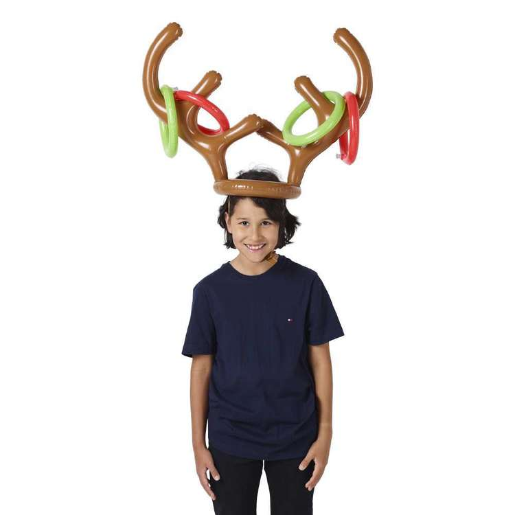 Jolly & Joy Celebrate Inflatable Reindeer Ring Toss