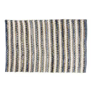 Spotlight Chindi Denim Rug