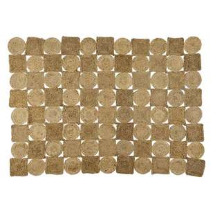 Spotlight Billie Squares Jute Rug