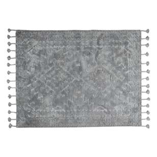 Spotlight Cut Out Tassel Polyester Rug