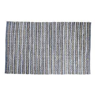 Spotlight Denim Chindi Jute Rug