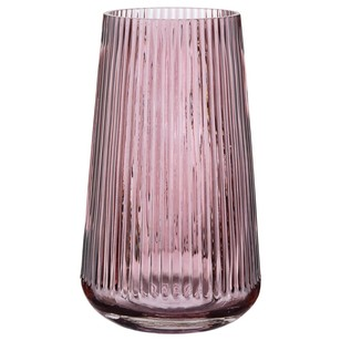 Boculair Chic Bloom Pink Stripe Vase