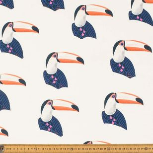 Jungle Birds Curtain Fabric
