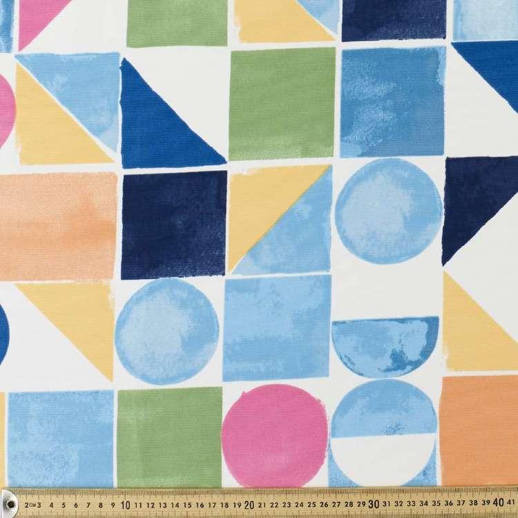 Water Proof Geometrisk Canvas Fabric