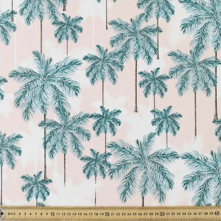 Water Proof Palms Canvas Fabric