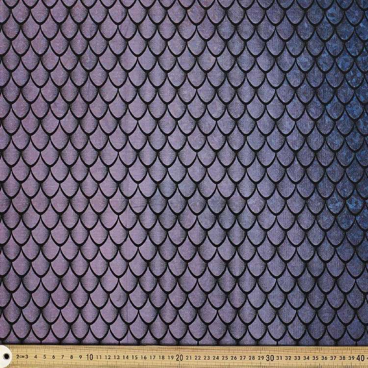 Holograph Dragon Scale Yaya Han Fabric
