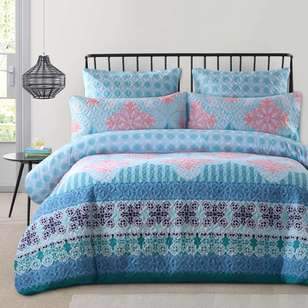 KOO Yasmine Quilted Quilt Cover Set