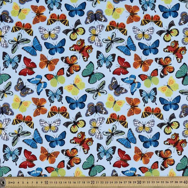 Rose & Hubble Butterfly Cotton Fabric