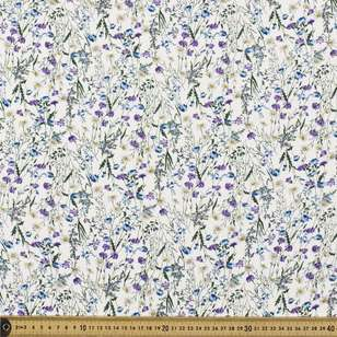 Greenfields Printed Rayon Crepe Fabric