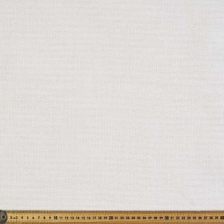 Nina Linen Look Upholstery Fabric Natural 145 cm