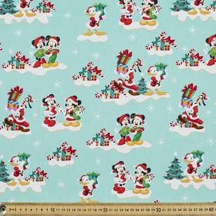 Disney Christmas Cohorts Cotton Fabric